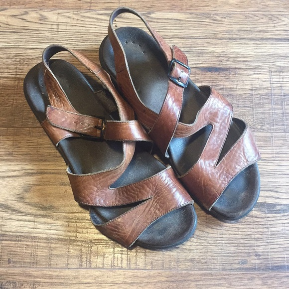 Mephisto Shoes | Leather Womens Sandals